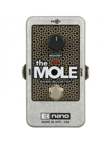 Electro Harmonix The Mole Bass Booster Guitar Effects Pedal