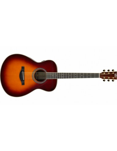 Yamaha LS-TA TransAcoustic Electro-Acoustic Guitar - Brown Sunburst
