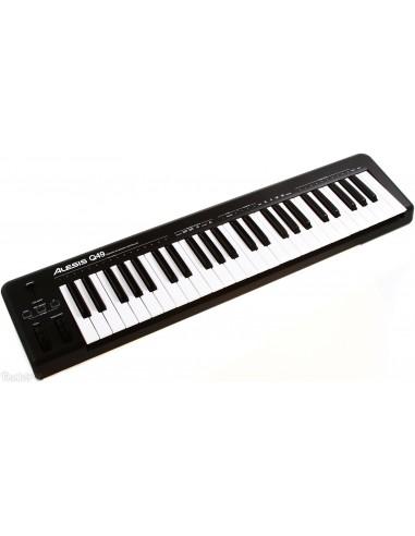 alesis q49 49 key midi controller keyboard. Black Bedroom Furniture Sets. Home Design Ideas