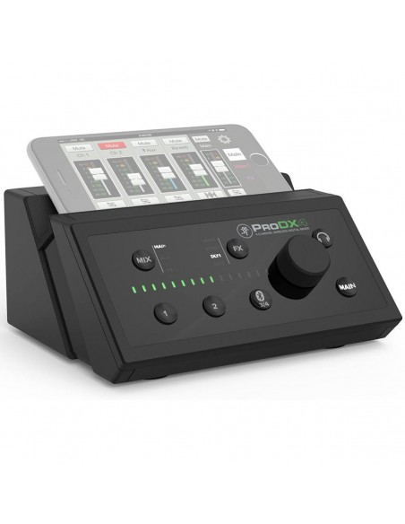 Mackie ProDX4 4-Channel Digital Portable Mixer - RRP £199