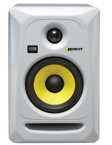 KRK Rokit 5 G3 Active Studio Monitor Speaker (Single) - White