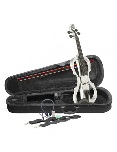 Stagg EVN X 4/4 Electric Violin - White