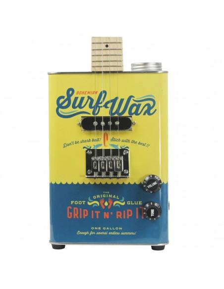 Bohemian Oil-Can Concert Ukulele - Surf Wax