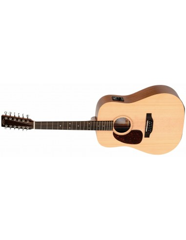 Sigma DM-12EL Left-Handed 12 String Electro-Acoustic Guitar