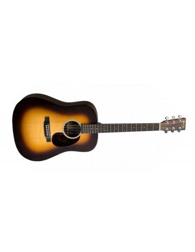 Martin X Series DX1AE Electro- Acoustic Guitar - Macassar Burst