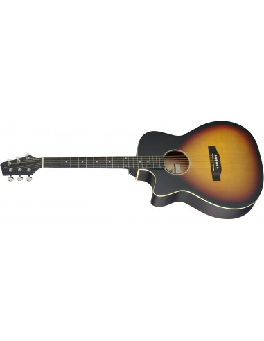 Stagg SA35 ACE-VS Electro Acoustic Guitar - Left-Handed