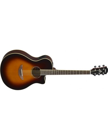 Yamaha APX-600 Thinline Electro Acoustic Guitar- Old Violin Sunburst
