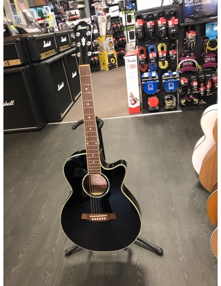 Ibanez AEG10E Electro-Acoustic Guitar - PRE-LOVED: (Okay Condition)