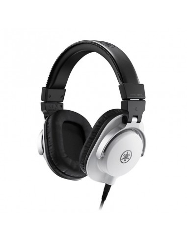 Yamaha HPH-MT5 Professional Studio Headphones - White
