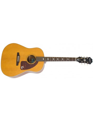 "Epiphone Texan ""1964"" Electro Acoustic Guitar - Antique Natural"