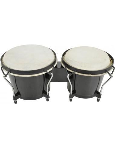 Chord BG67-BK Black Bongo Set