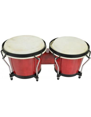 Chord BG67-RD Red Bongo Set