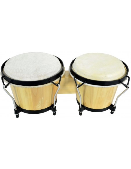 Chord BG67-NT Natural Bongo Set