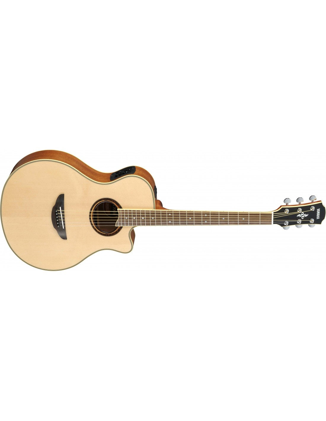 yamaha apx 700ii electro acoustic guitar natural. Black Bedroom Furniture Sets. Home Design Ideas
