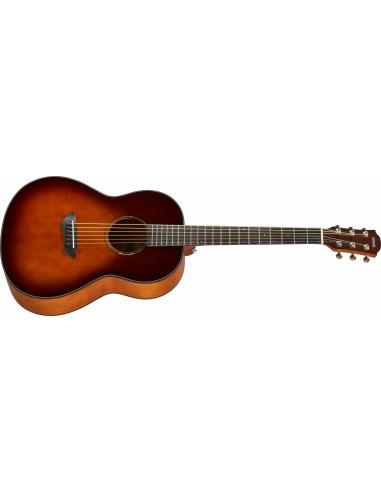 Yamaha CFS1M Folk-Shape Electro-Acoustic Guitar - Tobacco Sunburst