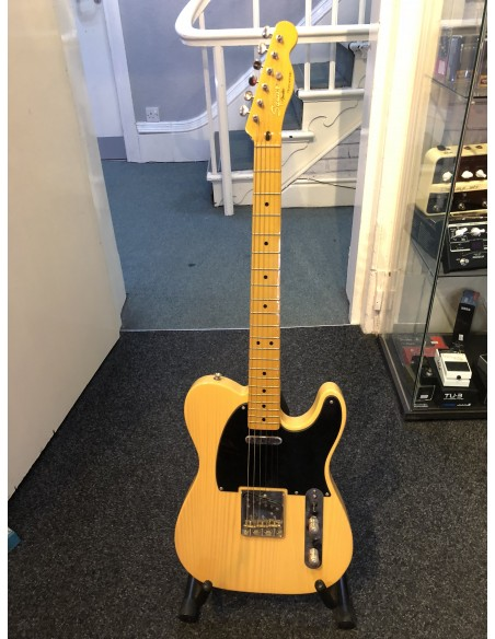 Squier Classic Vibe '50s Telecaster Electric Guitar - Butterscotch Blonde - Maple Fretboard - Pre-Loved (Good Condition)