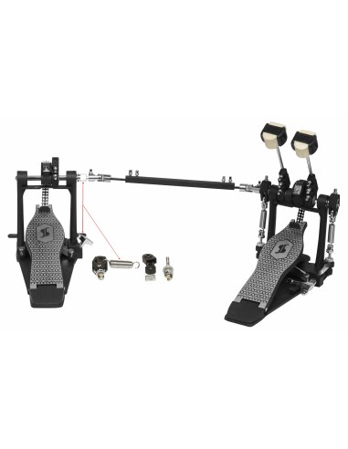 Stagg Heavy Duty Double Kick Pedal