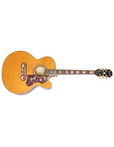 Epiphone EJ-200SCE Electro Acoustic Guitar - Vintage Natural