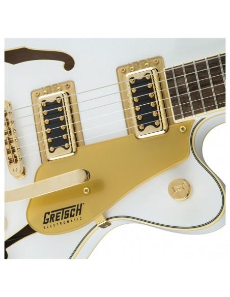 Gretsch G5655TG Limited Edition Center Block Jr - Snow Crest White