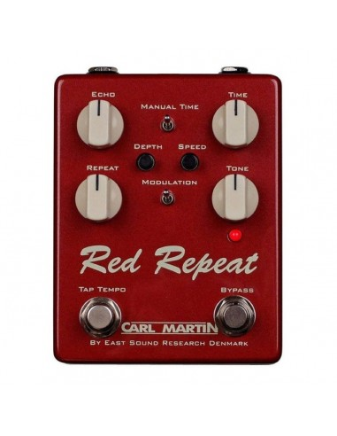 Carl Martin CM-0224 Red Repeat Guitar Effects Pedal