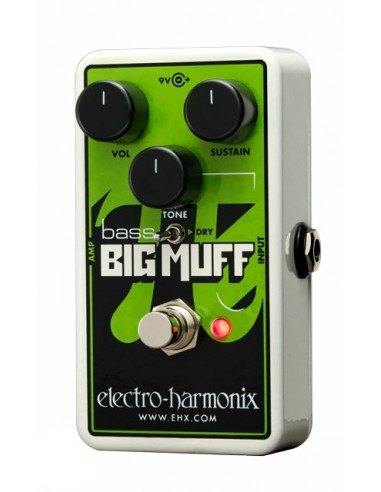 Electro Harmonix Nano Bass Big Muff Pi Distortion Bass Effects Pedal
