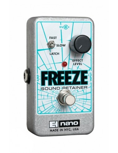 Electro Harmonix Nano Freeze Sound Retainer Guitar Effects Pedal