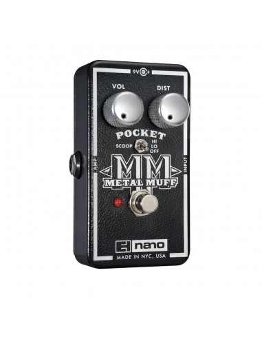 Electro Harmonix Nano Metal Muff Pocket Distortion Guitar Effects Pedal