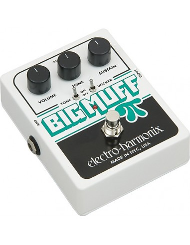 Electro Harmonix Big Muff Pi Distortion With Tone Wicker Guitar Effects Pedal
