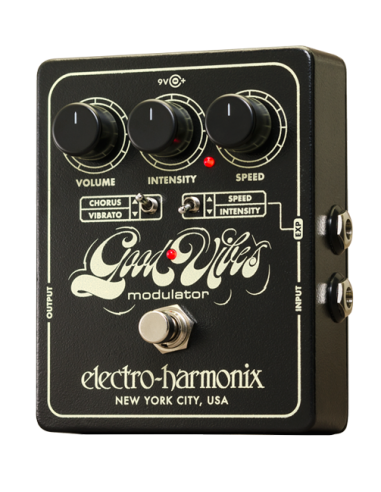 Electro Harmonix Good Vibes Analog Modulator Guitar Effects Pedal