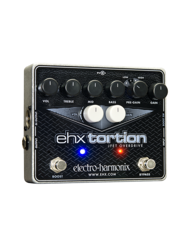 Electro Harmonix EHX Tortion Overdriver Guitar Effects Pedal