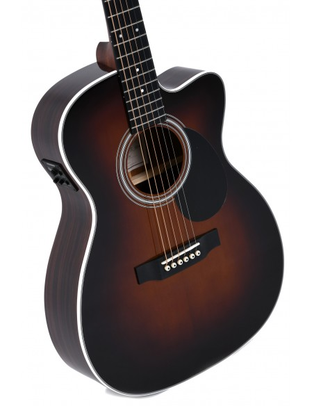 Sigma OMTC-1STE-SB+ Solid-Top Electro Acoustic Guitar