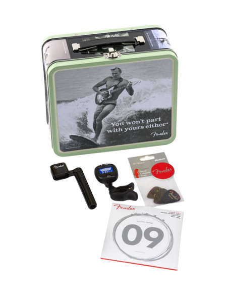 Fender 'You Won't Part with Yours Either' Lunchbox - Includes Accessories