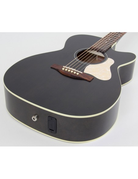 Art & Lutherie Legacy Q1T Electro-Acoustic Cutaway - Faded Black