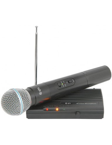 QTX VH45B Handheld Wireless VHF Microphone System