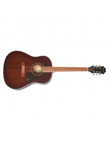 Epiphone AJ-220S Solid-Mahogany Top Slope-Shoulder Dreadnought Acoustic Guitar - Natural