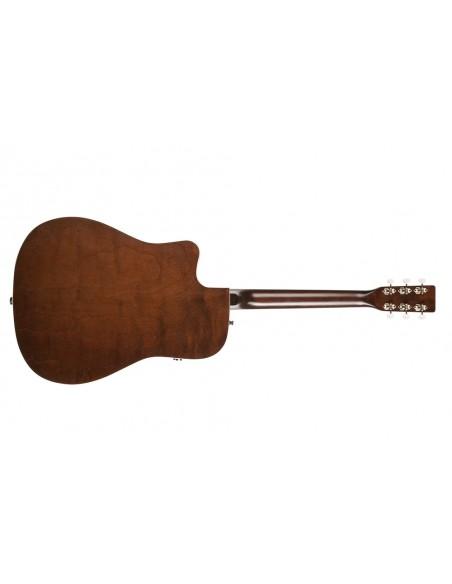 Art & Lutherie Americana Q1T Bourbon Burst Electro-Acoustic Guitar