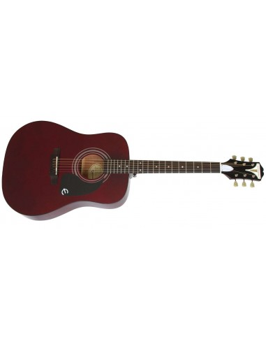Epiphone PRO-1 Short-Scale Dreadnought Acoustic Guitar - Wine Red