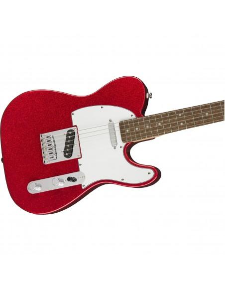 Squier Bullet Telecaster Electric Guitar - Red Sparkle - Laurel Fingerboard