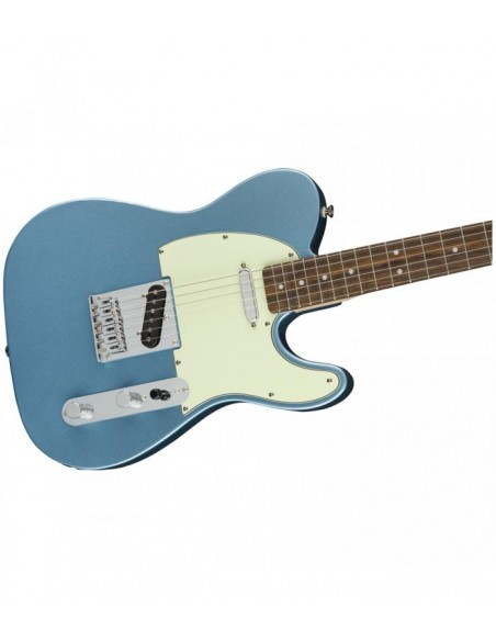 Squier Bullet Telecaster Electric Guitar - Lake Placid Blue - Laurel Fingerboard