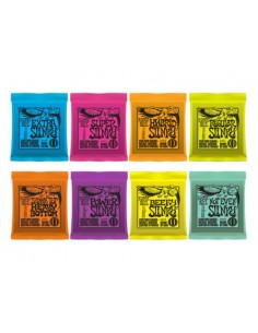Ernie Ball Electric Guitar Strings - (Check stock varieties before ordering)