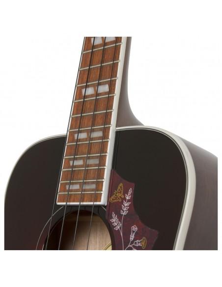 Epiphone Hummingbird Electro Tenor Ukulele - Tobacco Sunburst