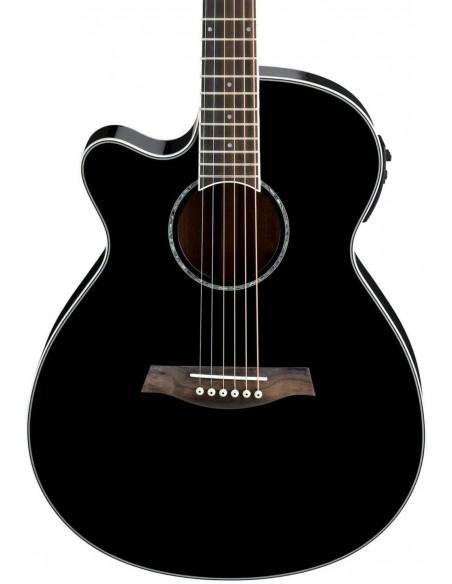 Ibanez AEG10LII Electro Acoustic Guitar - Black - Left-handed