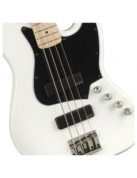 Squier Contemporary Active Jazz Bass HH - Flat White Maple Fingerboard