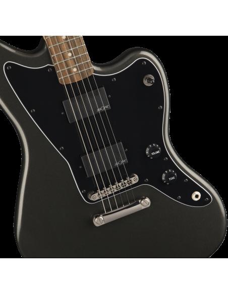 Squier Contemporary Active Jazzmaster - Graphite Metallic - Laurel Fingerboard