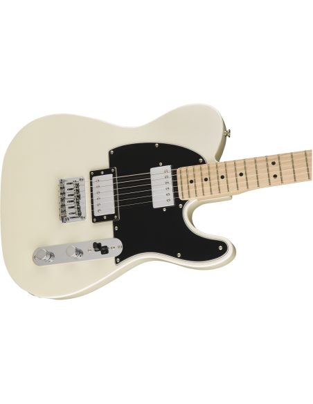 Squier Contemporary Telecaster HH - Pearl White - Maple Fingerboard