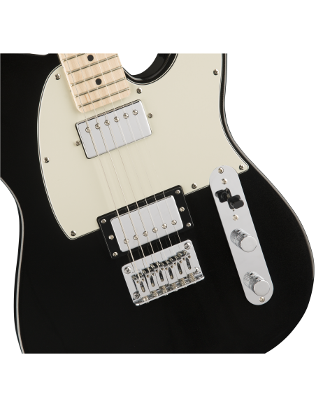 Squier Contemporary Telecaster HH - Black Metallic - Maple Fingerboard