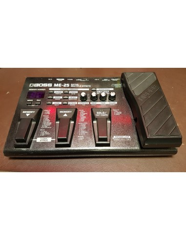 Boss ME-25 Multi-Effects Guitar Pedal - Pre-Loved (Good Condition)