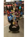 Epiphone EJ-200SCE Electro Acoustic Guitar - Black Ebony - Ex-Demo