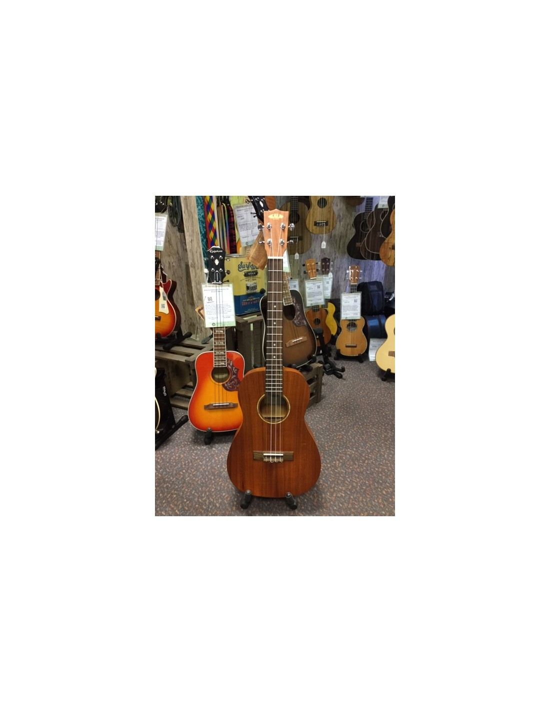 kala ka gab golden acacia baritone ukulele re sale good condition. Black Bedroom Furniture Sets. Home Design Ideas