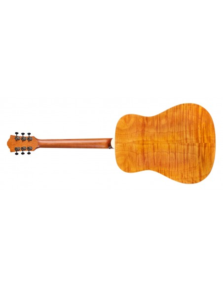 Guild D-240E Flamed Mahogany Electro-Acoustic Guitar